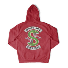389e35b50a0937 SOUTH SIDE SERPENTS RED CHERYL HOODIE